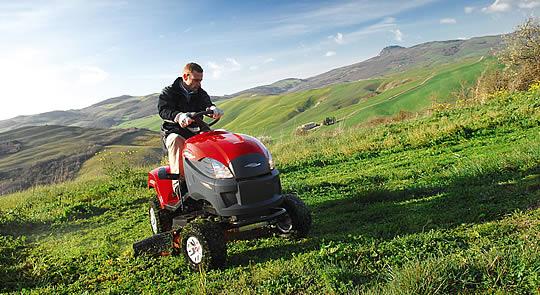 Castelgarden Rasentraktor und Rasenmäher