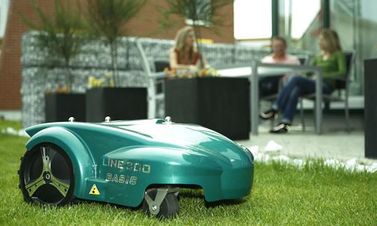 Automatischer Rasenmäher Ambrogio 300 Basic